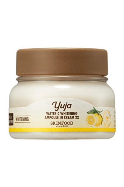 Skinfood Yuja Water C Whitening Ampoule In Cream 2x