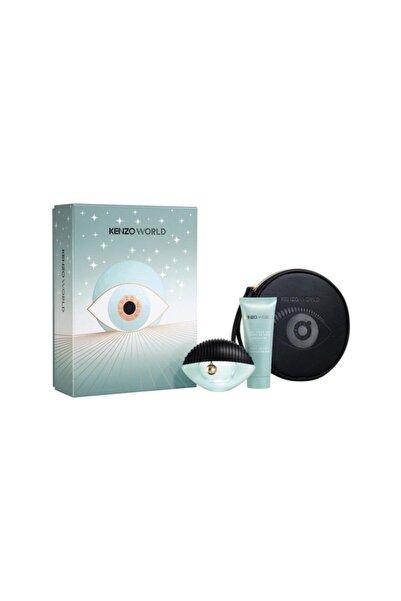Kenzo World Edp 75 ml Kadın Parfüm Seti 3274872375000