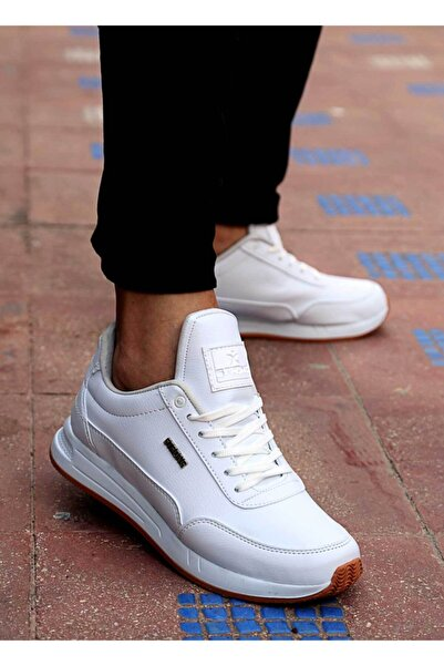 Strong Erkek Beyaz Spor Ayakkabı