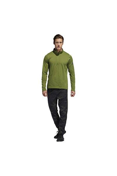 adidas Erkek Yeşil Sweatshırt