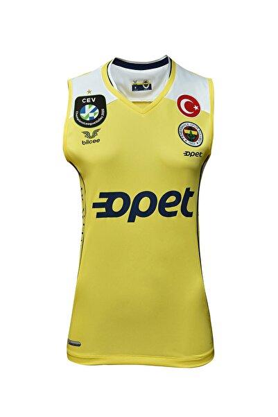 Fenerbahçe Sarı Kadın Voleybol Forma FB-0018