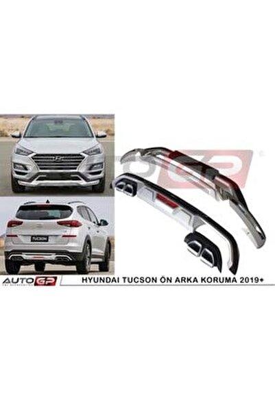 Hyundai Tucson Ön Arka Tampon Koruması Difüzör 2018 2019 2020 1.6