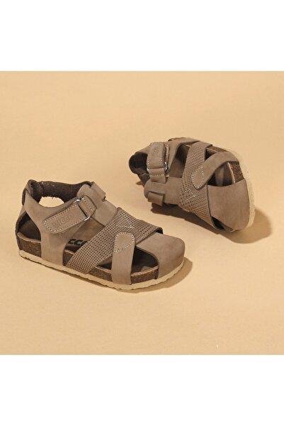 Vicco 905.20y.086 Adonis Hakiki Deri Erkek Çocuk Spor Sandalet Ayakkabı