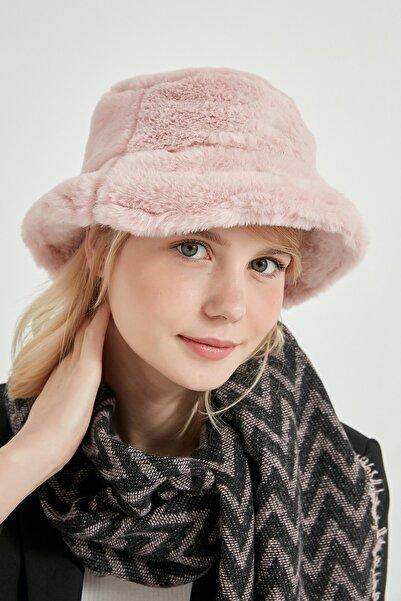 Axesoire 12839-1 Pembe Renk Bucket Şapka