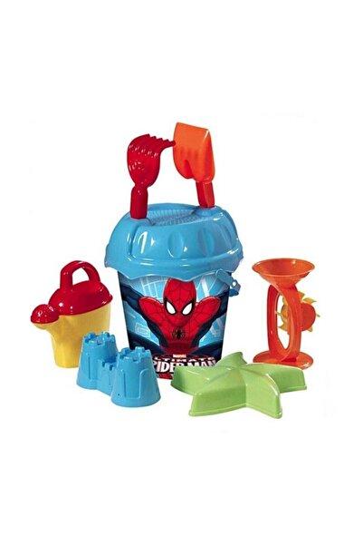 DEDE Dünyam Alışveriş Spiderman Büyük Kova Set
