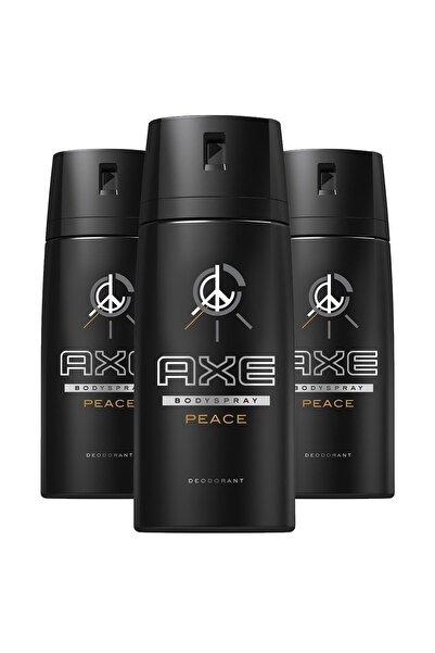 Axe Erkek Deodorant Sprey Peace 150 Ml X3
