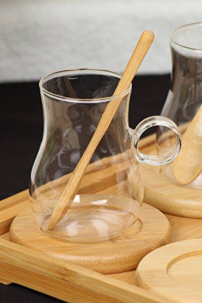 AROW Verona Borosilikat Cam Çay Seti