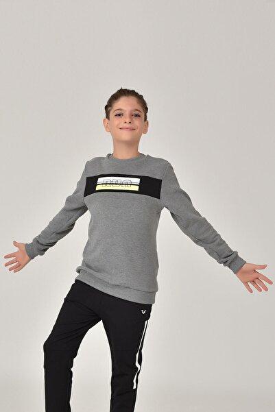 bilcee Gri Erkek Çocuk Sweatshirt FW-1430