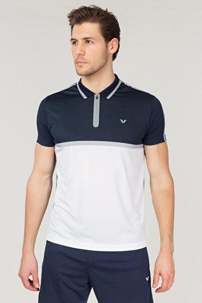 bilcee Lacivert Erkek Polo Yaka T-Shirt FS-1760