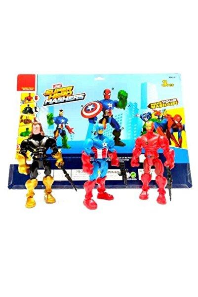MRÇ Kaptan Amerika Thor Demir Adam Üçlü