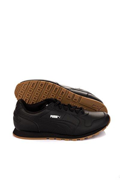 Puma Unisex Siyah Koşu Ayakkabısı - St Runner Full L Black- Black - 35913008