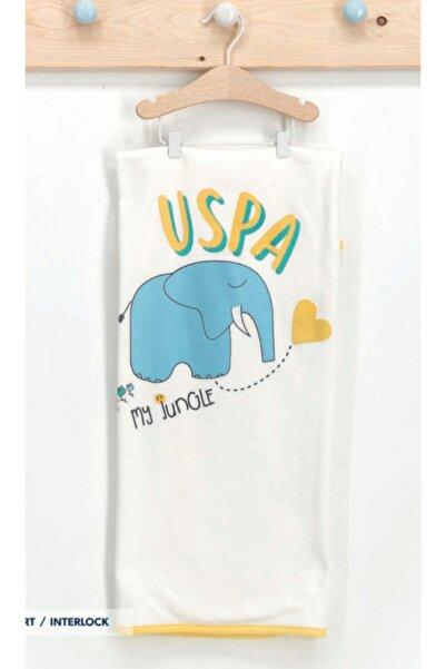 U.S. Polo Assn. Kids U.s. Polo Assn Lisanslı Bebek Battaniye Sarı