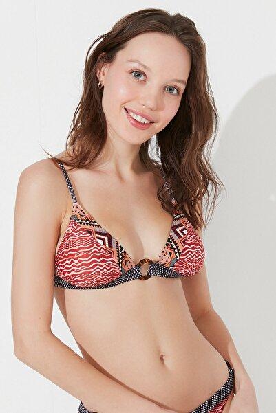Penti Çok Renkli Arne Üçgen Fit Bikini Üstü