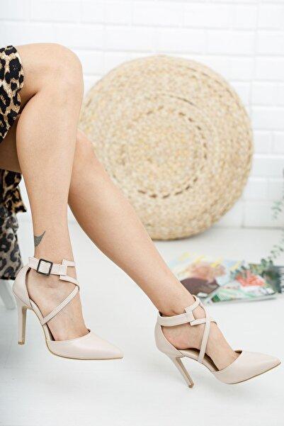 Radikal Edrie Ten Cilt Topuklu Ayakkabı Stiletto