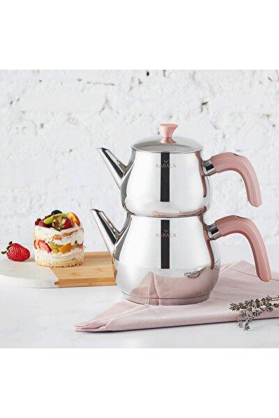 Karaca Kayra Rose Çaydanlık Takımı