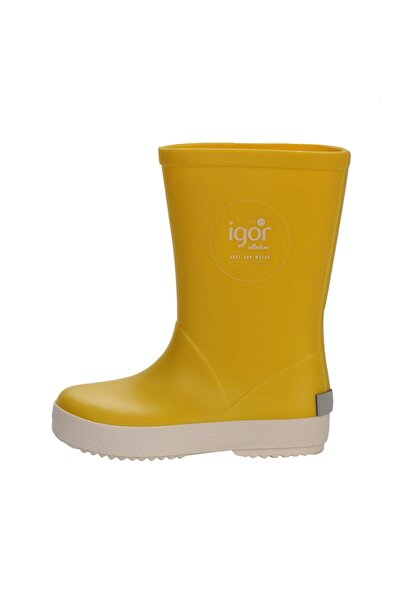 IGOR Kırmızı Kadın / Kız Yağmur Botu W10107 Splash Nautıco 008-amarillo 26-35
