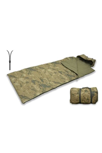 KARACA OUTDOOR Outdoor -15 Derece Askeri Kamuflaj Uyku Tulumu