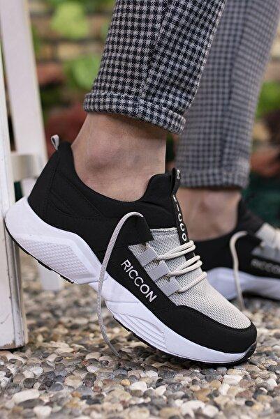 Riccon Siyah Buz Unisex Sneaker 0012072