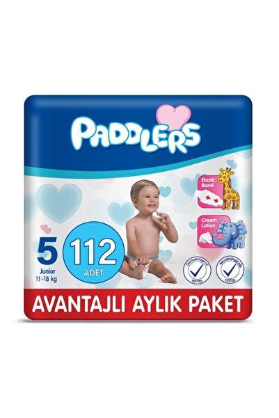 Paddlers Bebek Bezi 5 Numara Junior 112 Adet (11-18 KG)