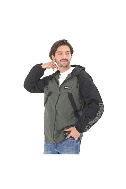 Timberland B0a2bv4cd91-r Yc Windbreaker Full Zip Jacket Erkek Ceket Gri