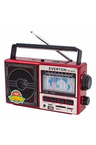 Everton Rt-41 Bluetootlu Usb Radyo Kırmızı