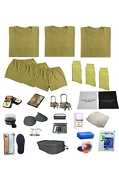 Burak Askeri Malzeme 5'li Temel Askerlik Paketleri Bedelli & 6 Aylik