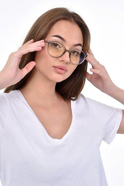 PETİTO VEGA  Gri Mavi Işık Korumalı Ekran Gözlüğü (47-20-140 orta ölçekte ve hafif)