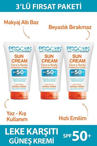 Procsin Güneş Kremi (50 ML * 3 ADET) Fırsat Paketi