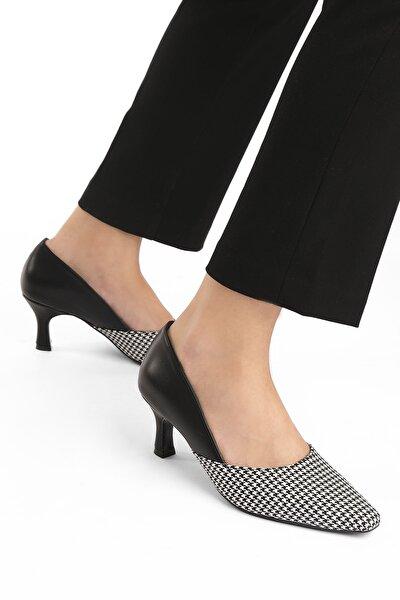 Marjin Kadın Stiletto Topuklu Ayakkabı Vonez