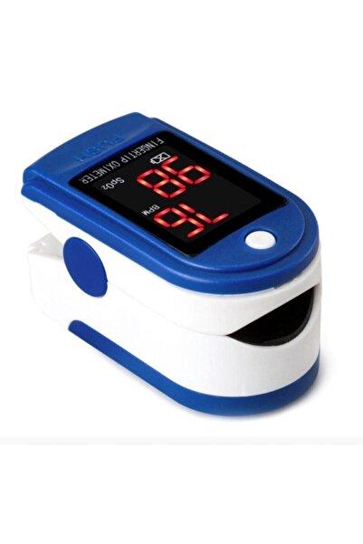 Pulse Oxımeter Pulse Oksimetre Parmaktan Nabız Ölçer Oksijen Ölçüm Cihazı - Nabız Ve Oksijen Satürasyon Ölçüm Aleti