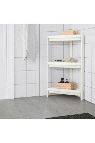 HOMELIA Ucgen Banyo Rafı Beyaz
