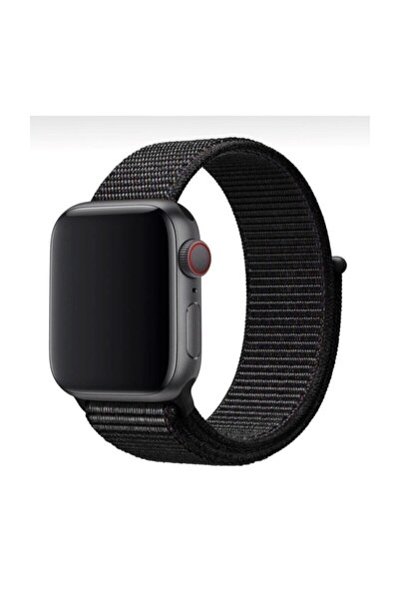 MORTY Apple Watch 1-2-3-4-5-6-se Serisi 42mm - 44mm Uyumlu Spor Kumaş Kordon