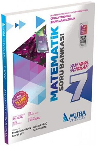 Muba Yayınları 7. Sınıf Matematik Soru Bankası 0701