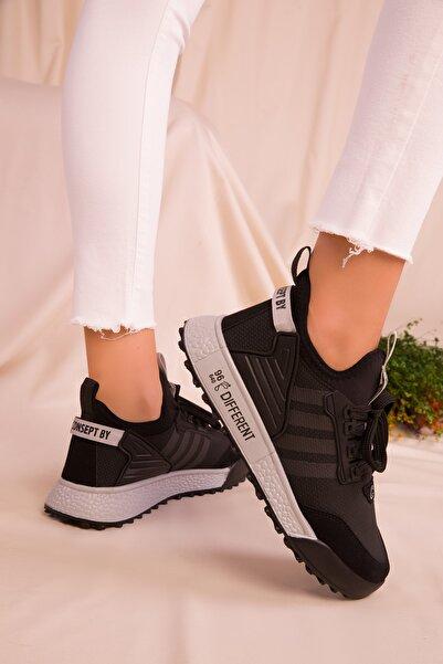 SOHO Siyah-buz Kadın Sneaker 16597