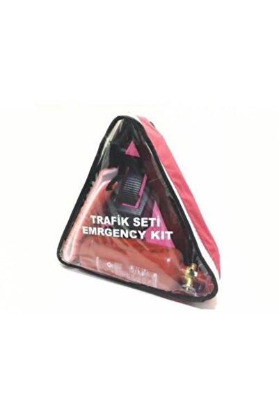 Carub Trafik Seti Üçgen Çantalı 1kg Söndürücülü