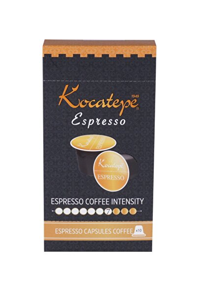 KOCATEPE KAHVE Espresso 10'lu Kapsül Kahve