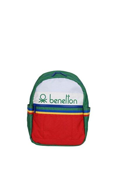 United Colors of Benetton Unisex Benetton Iki Bölmeli Anaokul Çantası 70034