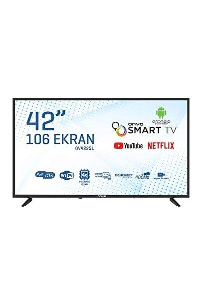 ONVO OV42251 42'' 106 Ekran Uydu Alıcılı Full HD Android Smart LED TV