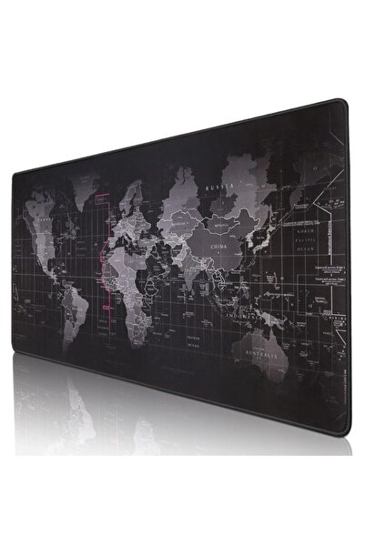 DALONG Mouse Pad Dünya Haritalı 90x40 Cm.