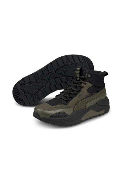 Puma X-ray 2 Square Mid Wtr Spor Ayakkabı Haki Kadın/erkek - 37302005
