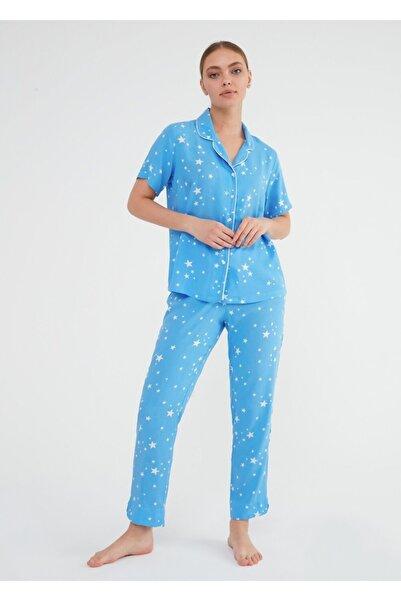 SUWEN Fiona Maskulen Pijama Takımı