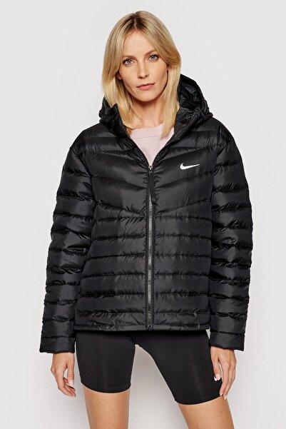 Nike Sportswear Down-fill Windrunner Full-zip Hoodie Siyah Kaz Tüyü Mont
