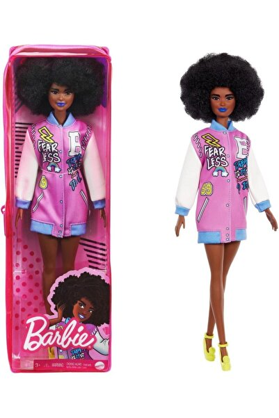 Barbie Fashıon Tas büyüleyici Parti Bebekleri Esmer Kıvırcık Saçlı
