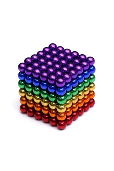 Streak Neodyum Mıknatıs Neocube Küp Stres Bilye 216 Adet 3mm - Karışık Renkli