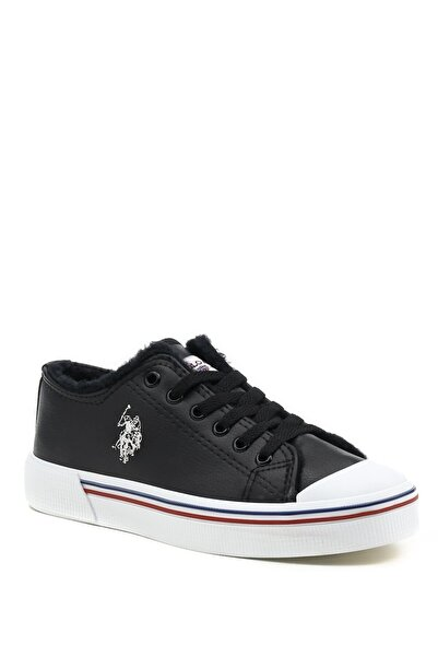 U.S. Polo Assn. Penelope Krk. 1pr Siyah Kadın Havuz Taban Sneaker