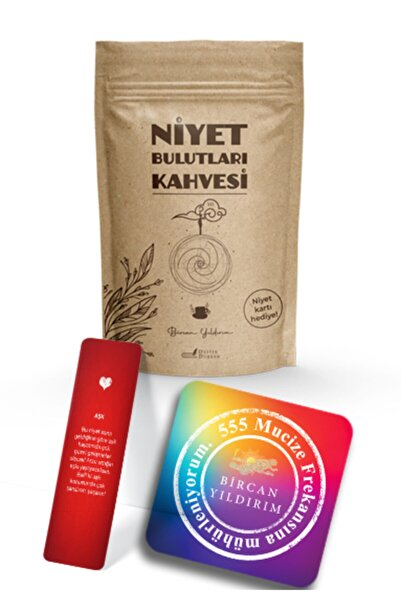 Destek Yayınları Bircan Yıldırım Niyet Bulutları Kahve Seti