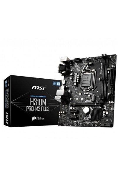 MSI H310M PRO-M.2 PLUS Intel H310 1151 Soket 2666MHz O.C. DDR4 USB 3.1 DVI&HDMI Anakart