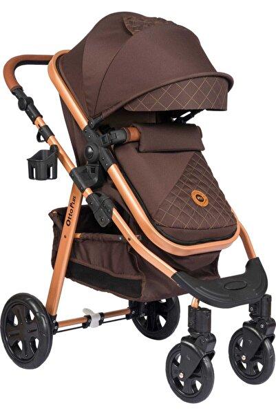 Otto Plus Op470 Travel Sistem Bebek Arabası Ve Puset Kahverengi