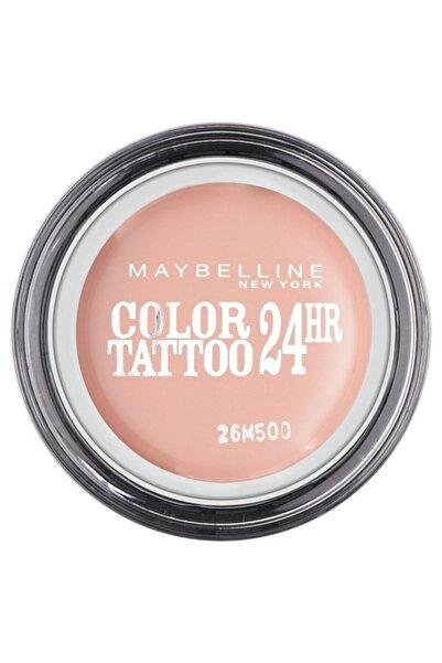 Maybelline New York Göz Farı - Color Tattoo 91 Creme De Rose