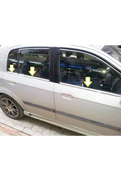 EBAL OTO AKSESUAR Hyundai Getz Krom Cam Çıtası 6 Prç. 2002 Üzeri P. Çelik